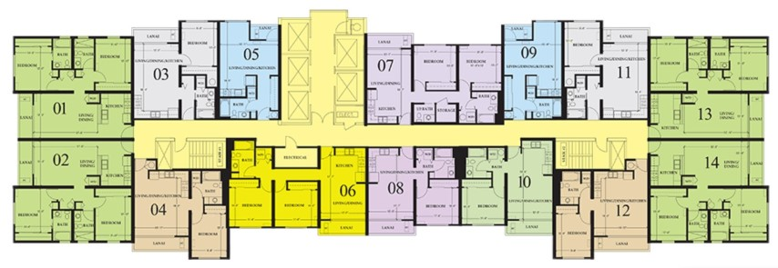 801 South Street floorplan