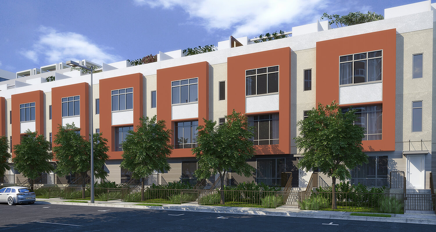 Exterior photo of The Collection condominium project