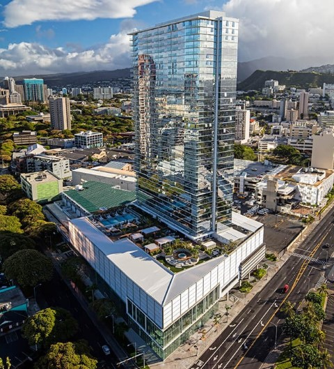 Symphony Honolulu Building Exterior