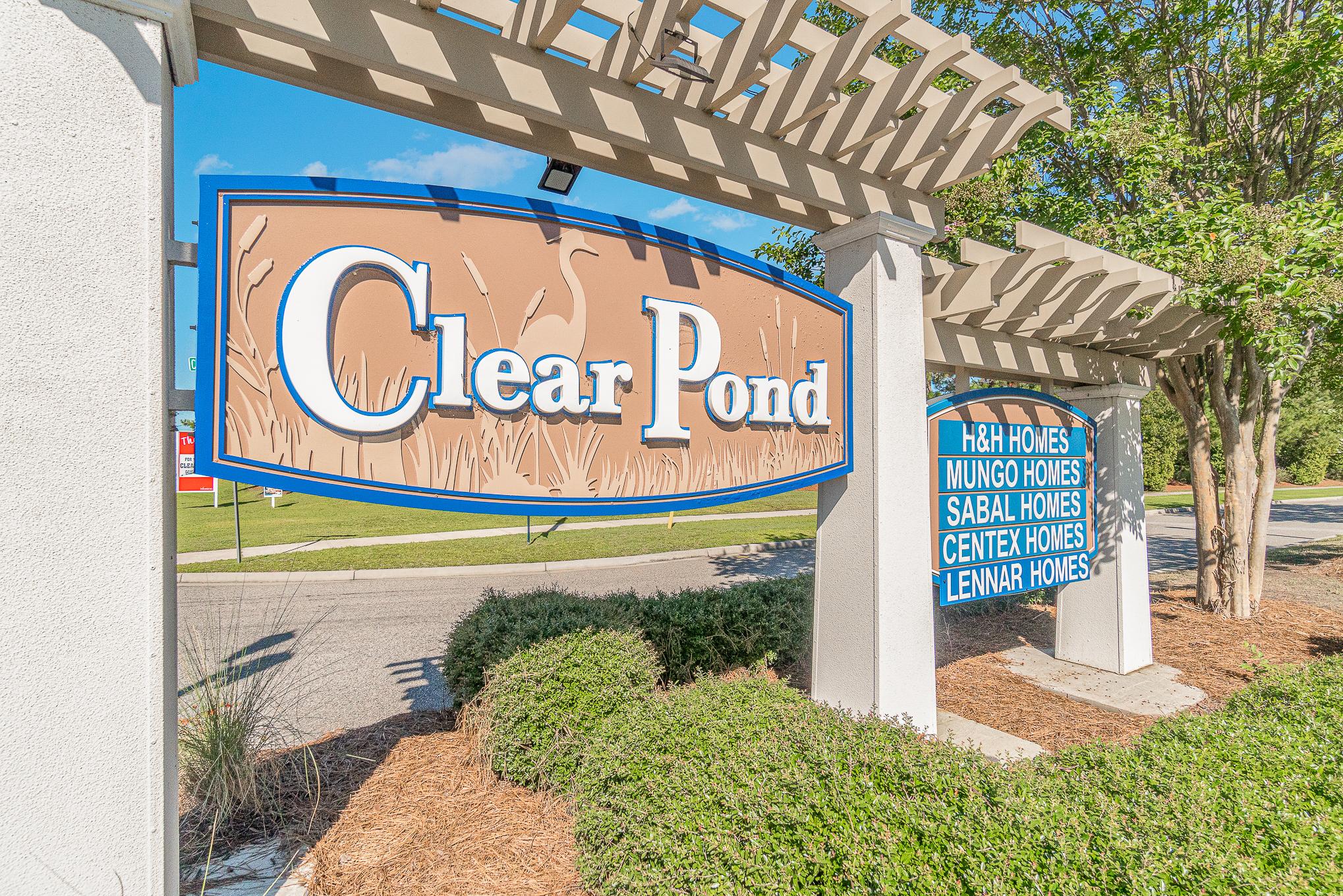 Clear Pond Entrance
