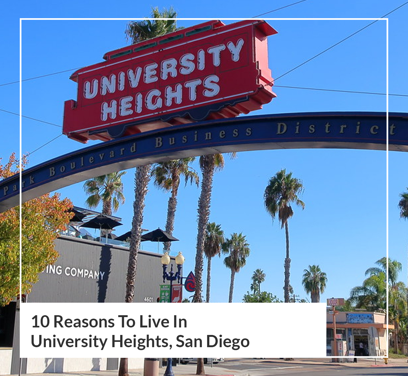 Moving to University Heights