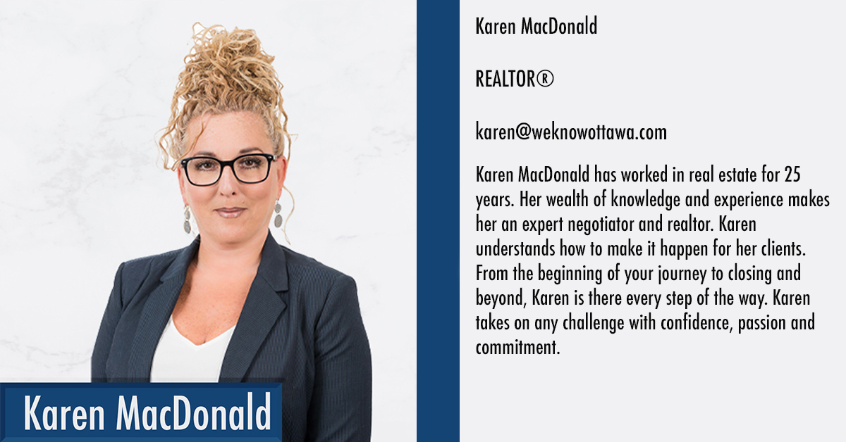 Karen MacDonald Ottawa Real Estate Agent
