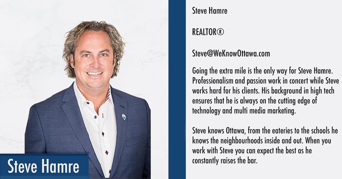 Steve Hamre Ottawa Real Estate