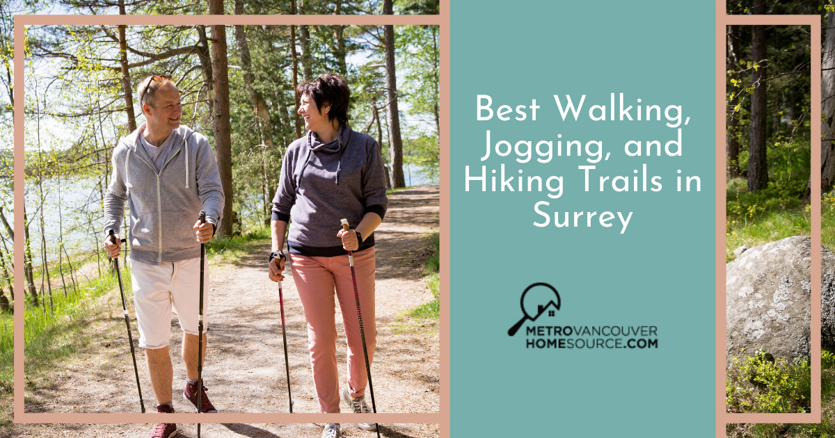 Best Walking and Jogging Trails in Surrey