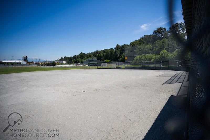 Bolivar Park Baseball Field in Bolivar Heights, Surrey, British Columbia