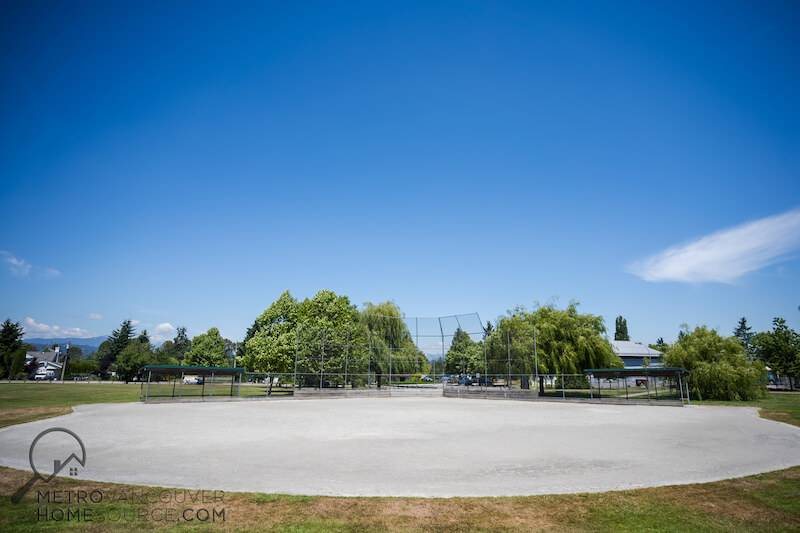 Bridgeview Park Baseball Diamond in Bridgeview, Surrey, British Columbia