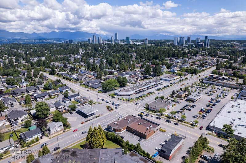 Cedar Hills Neighbourhood in Surrey, British Columbia