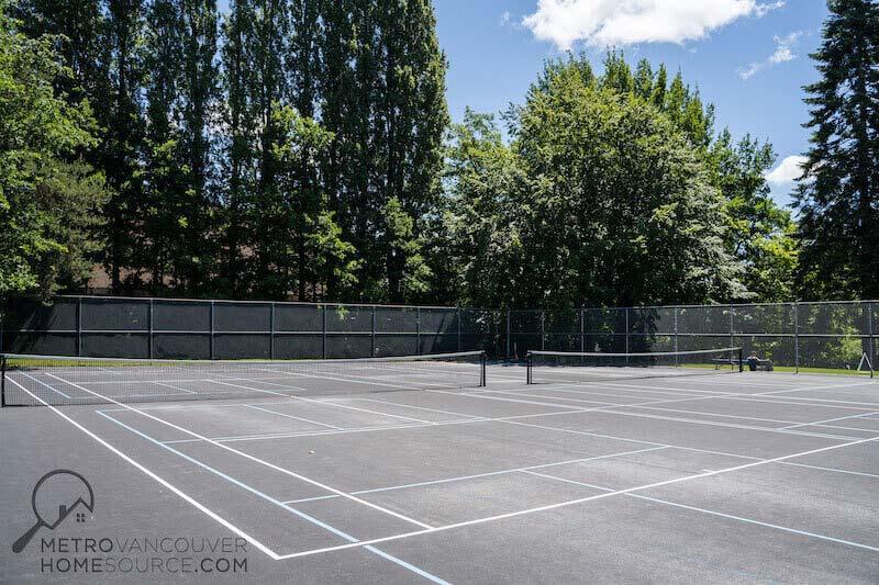 Robson Park Tennis Courts in Surrey, British Columbia
