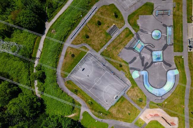 Bear Creek Park Basketball Court & Skate Park, Bear Creek Neighbourhood, Surrey