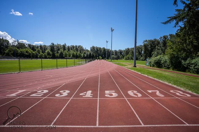 Bear Creek Park Running Track, Bear Creek Neighbourhood, Surrey