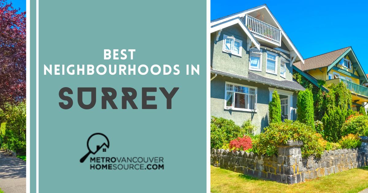 Surrey Best Neighbourhoods