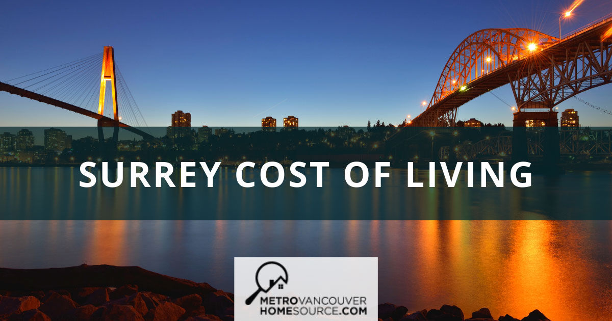 Surrey Cost of Living Guide