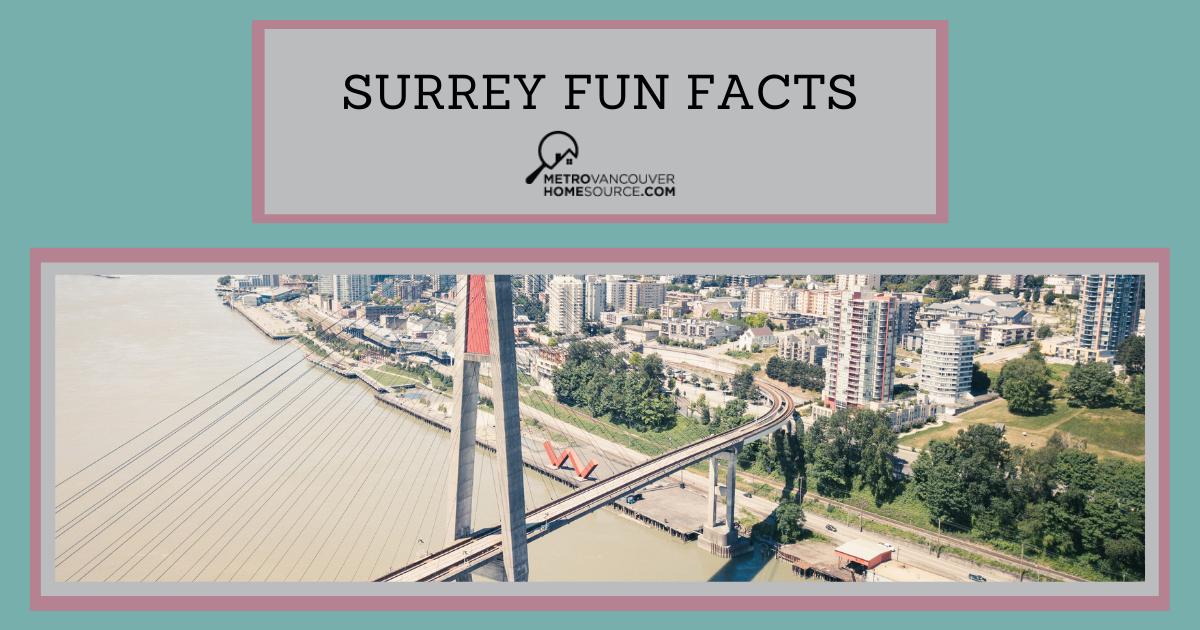 Surrey Fun Facts
