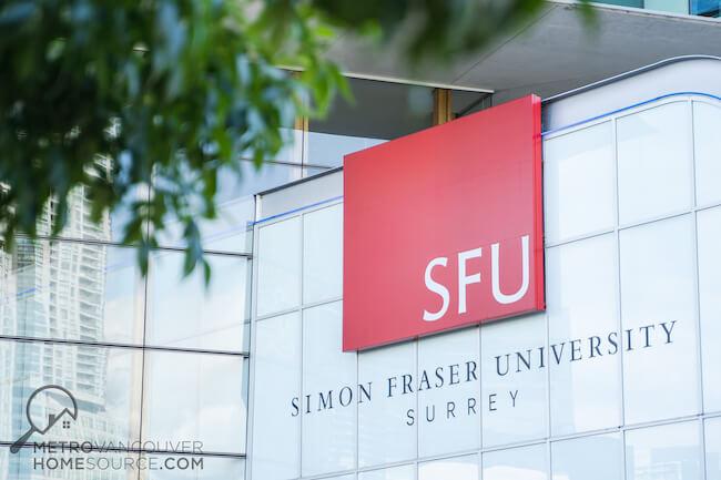 Simon Fraser University (SFU), North Surrey Neighbourhood, Surrey