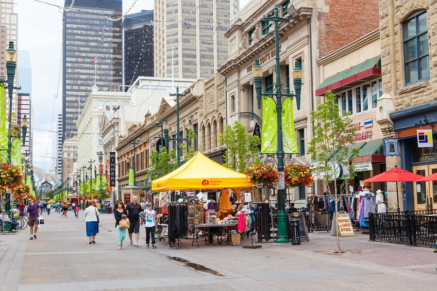 Walkable Neighbourhoods in Calgary