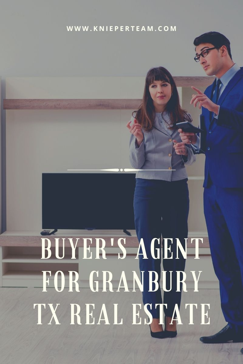 Buyer's Agent for Granbury TX Real Estate