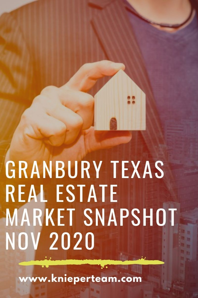 Granbury Texas Real Estate Market Snapshot Nov 2020