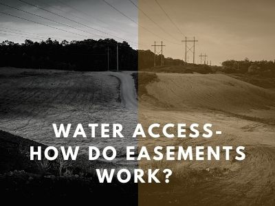 Water Access- How do Easements Work?