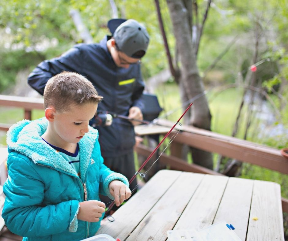 How to Catch Fish in Lake Granbury with Kids