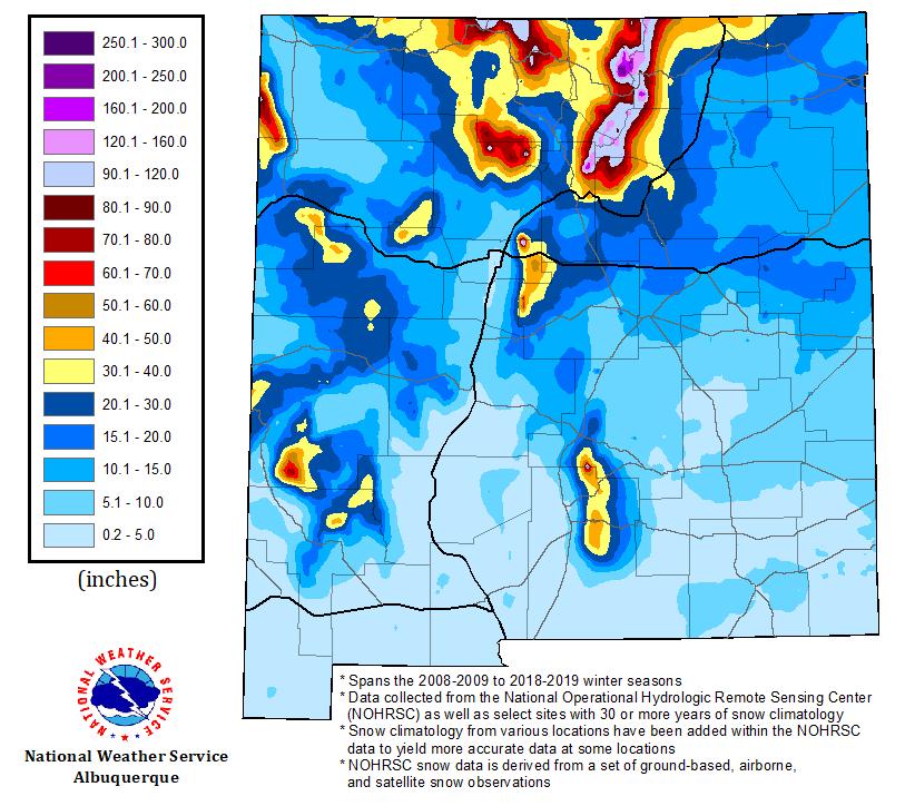 Will it Snow in Albuquerque?
