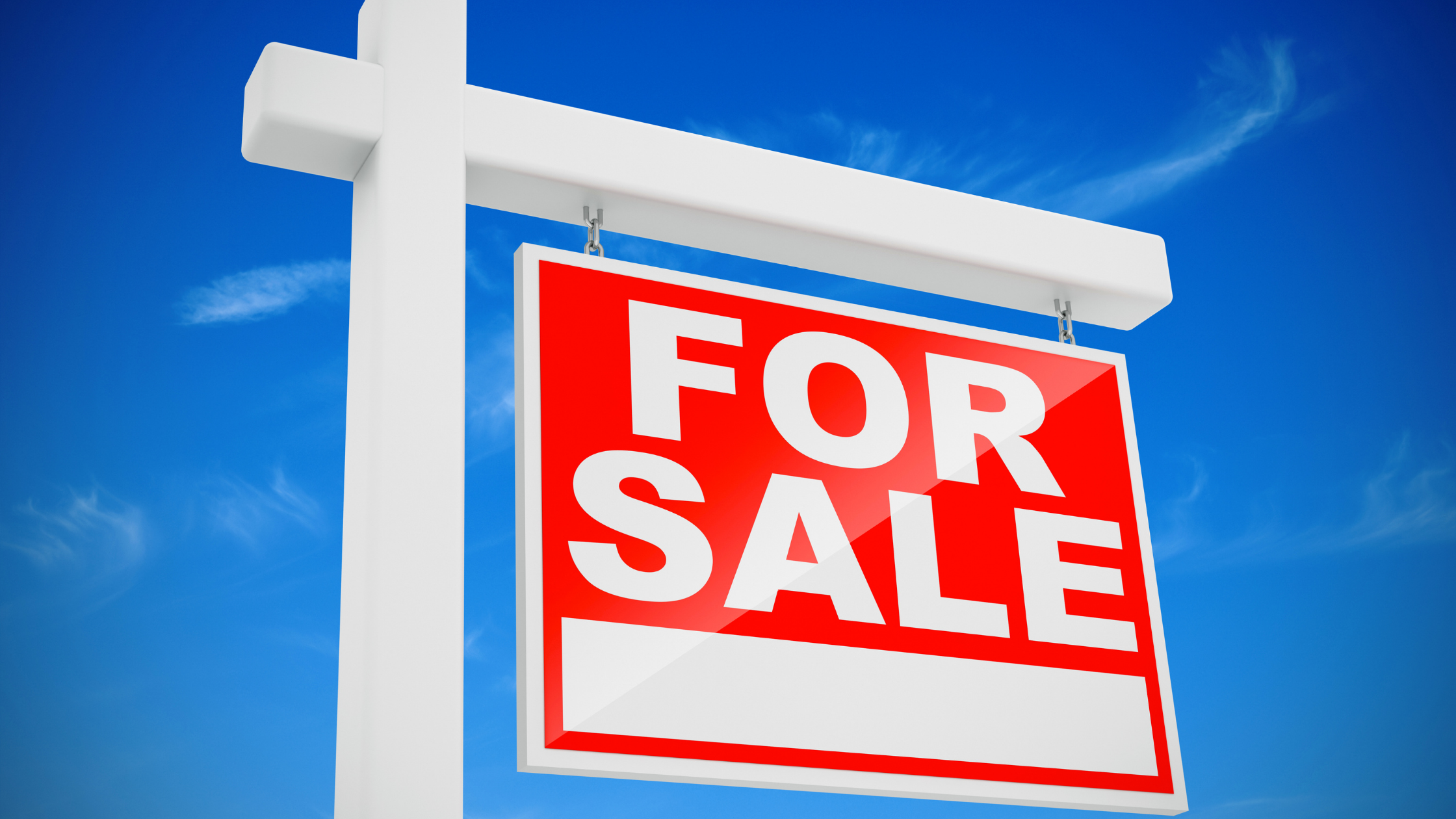 Selling a home in New Mexico with a yard sign