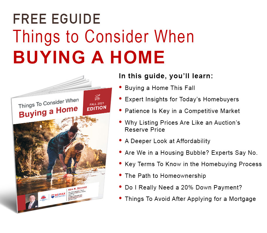 Things To Consider When Buying A Home eGuide