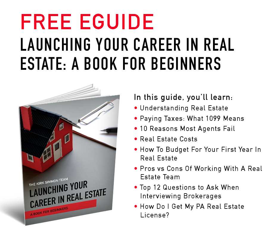 Launching Your Career In Real Estate Graphic