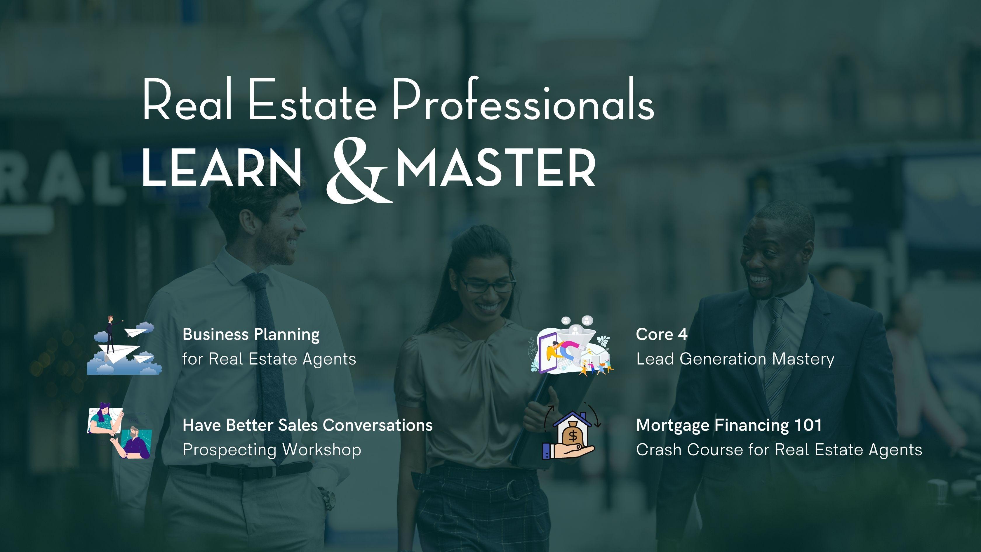 Workshops for Real Estate Professionals