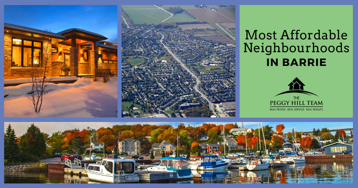 Barrie Most Affordable Neighborhoods