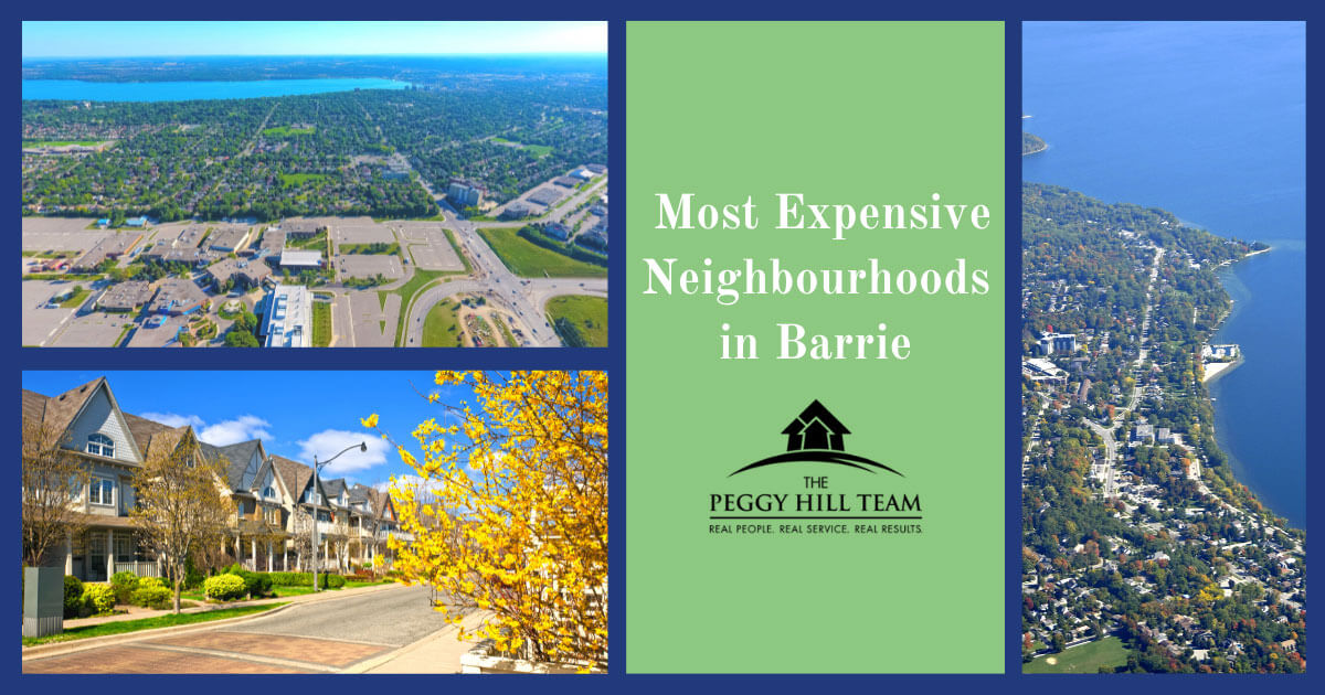 Barrie Most Expensive Neighborhoods
