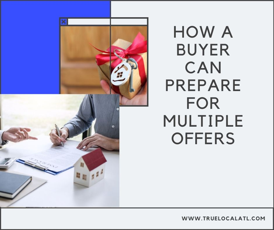 How can a buyer prepare for multiple offers