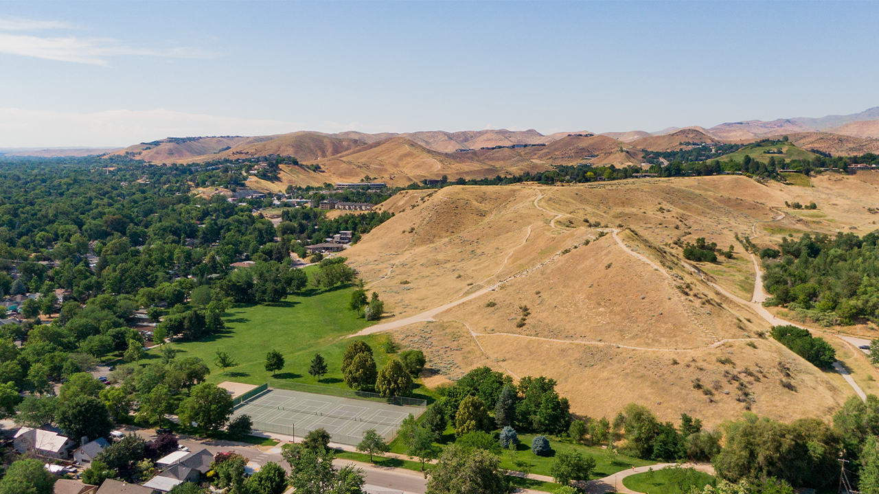 Camel's Back Park in Boise, ID