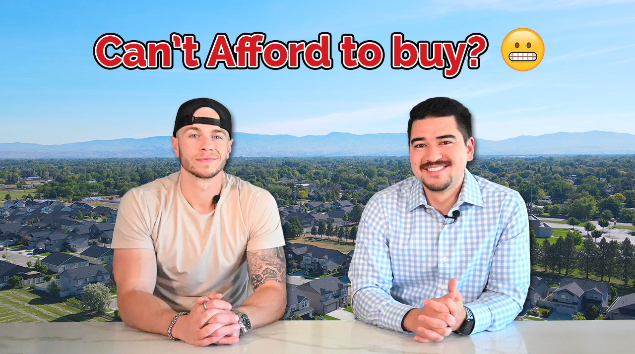 Can't afford to buy a home?