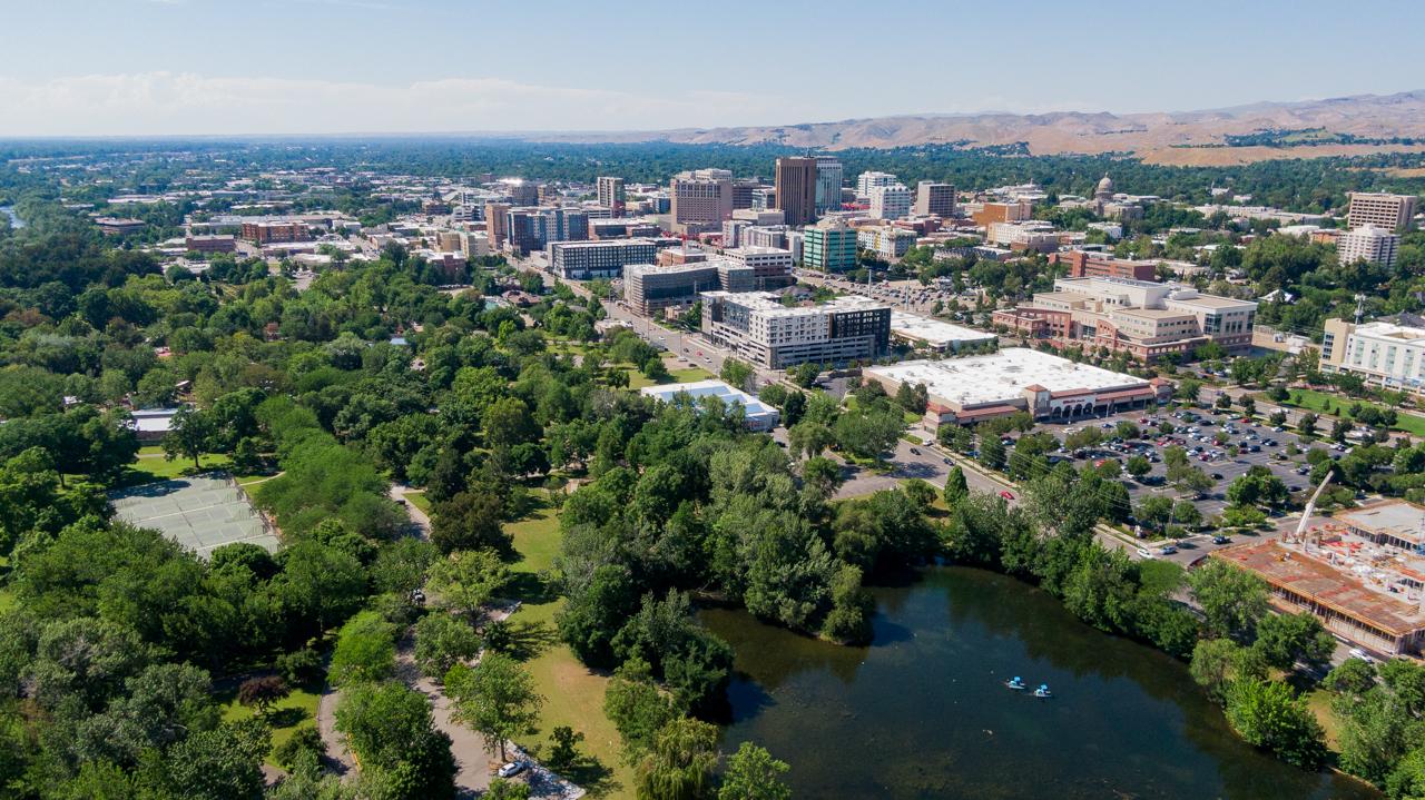 Julia Davis Park in Boise, ID