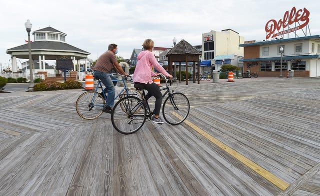 Bike-Riding-on-the-Boardwalk-Delaware-Online-Photo