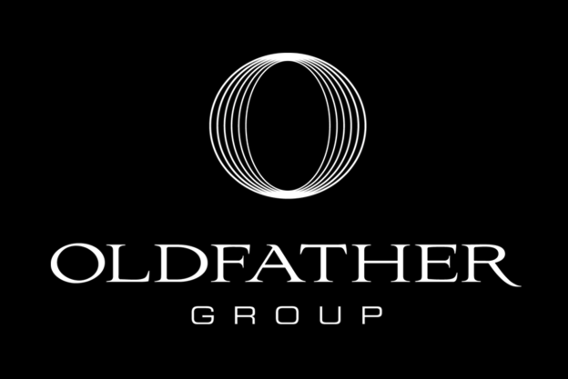 Oldfather Group Black and White Logo