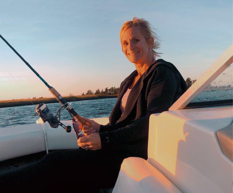 Jennifer Elphick Fishing