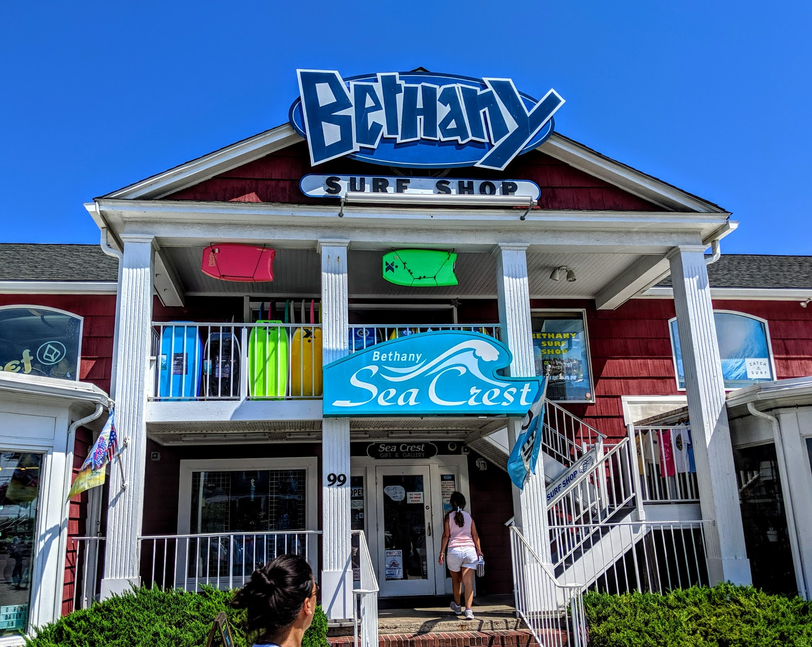 Bethany Surf Shop Front