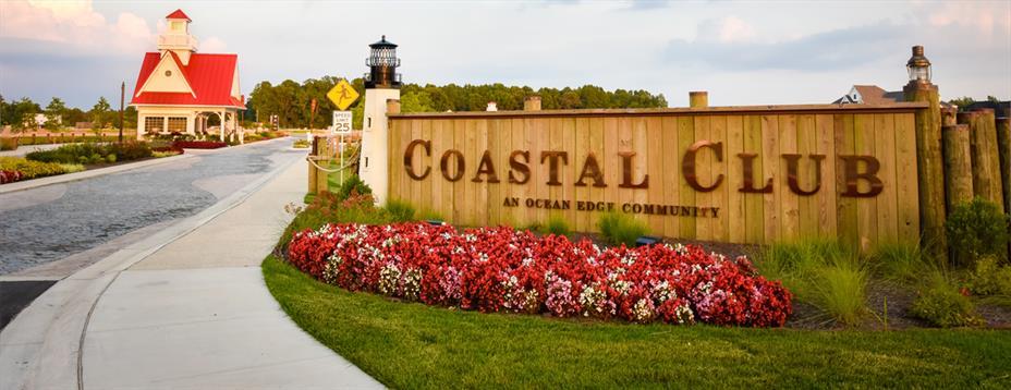 Coastal Club Sign