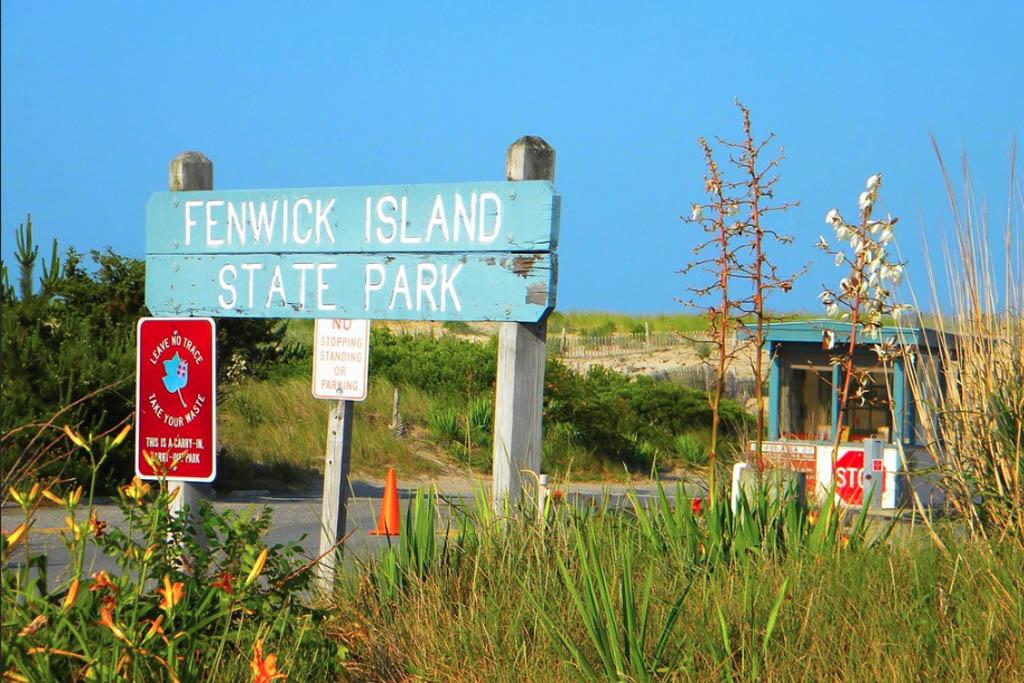 Fenwick Island State Park Sign