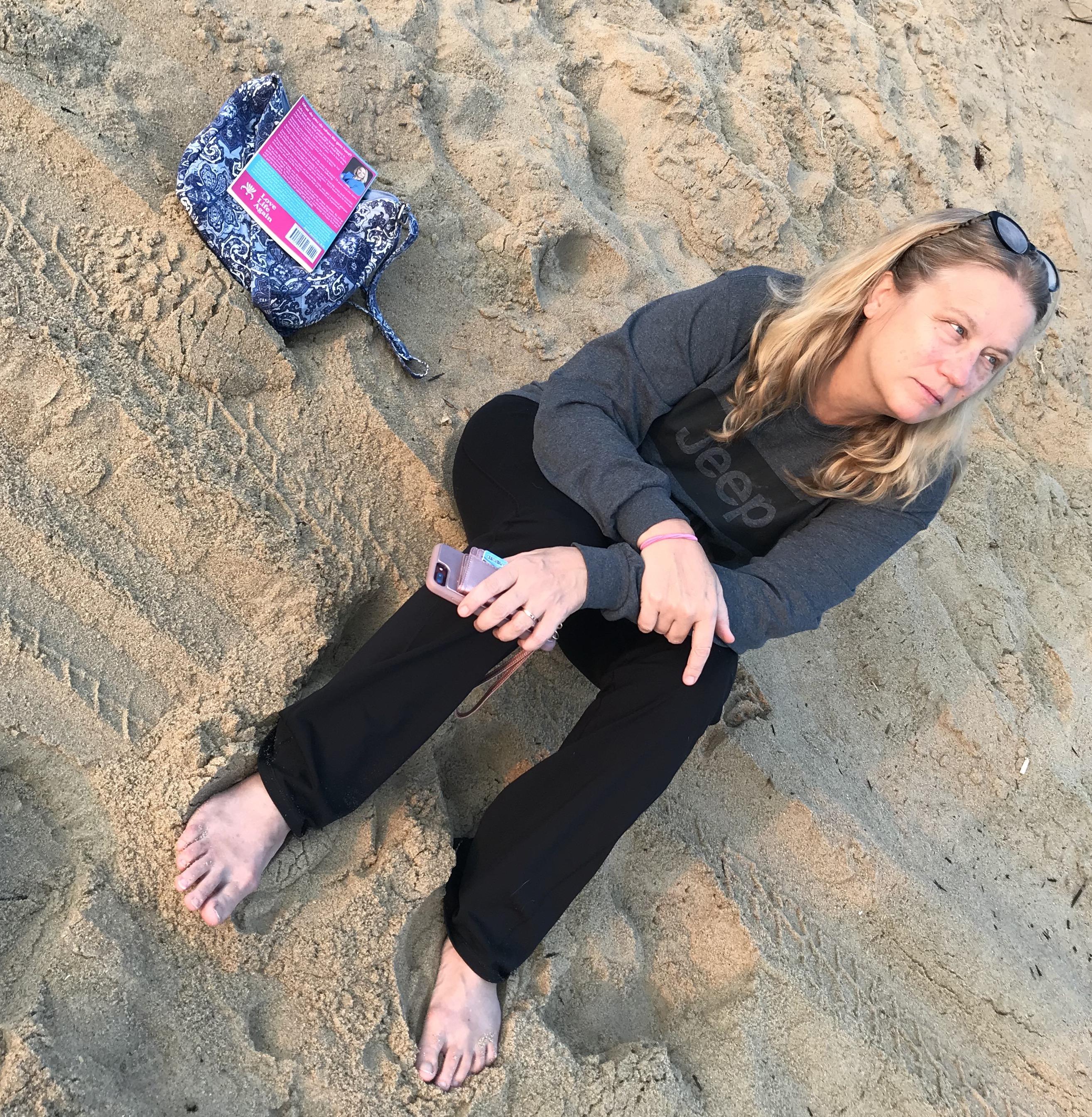 Brenda Hornung on Beach