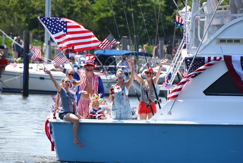 Lewes Boat Parade Photo