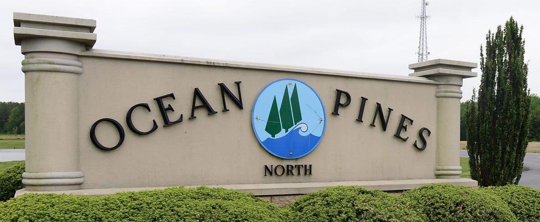 Ocean Pines Sign
