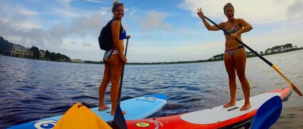 Rehoboth Beach Paddleboarding