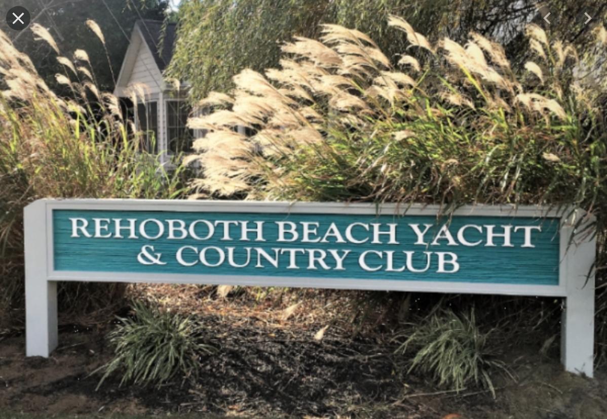 Rehoboth Beach Yacht & Country Club Entrance