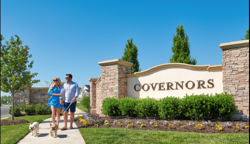 Governors Entrance Sign
