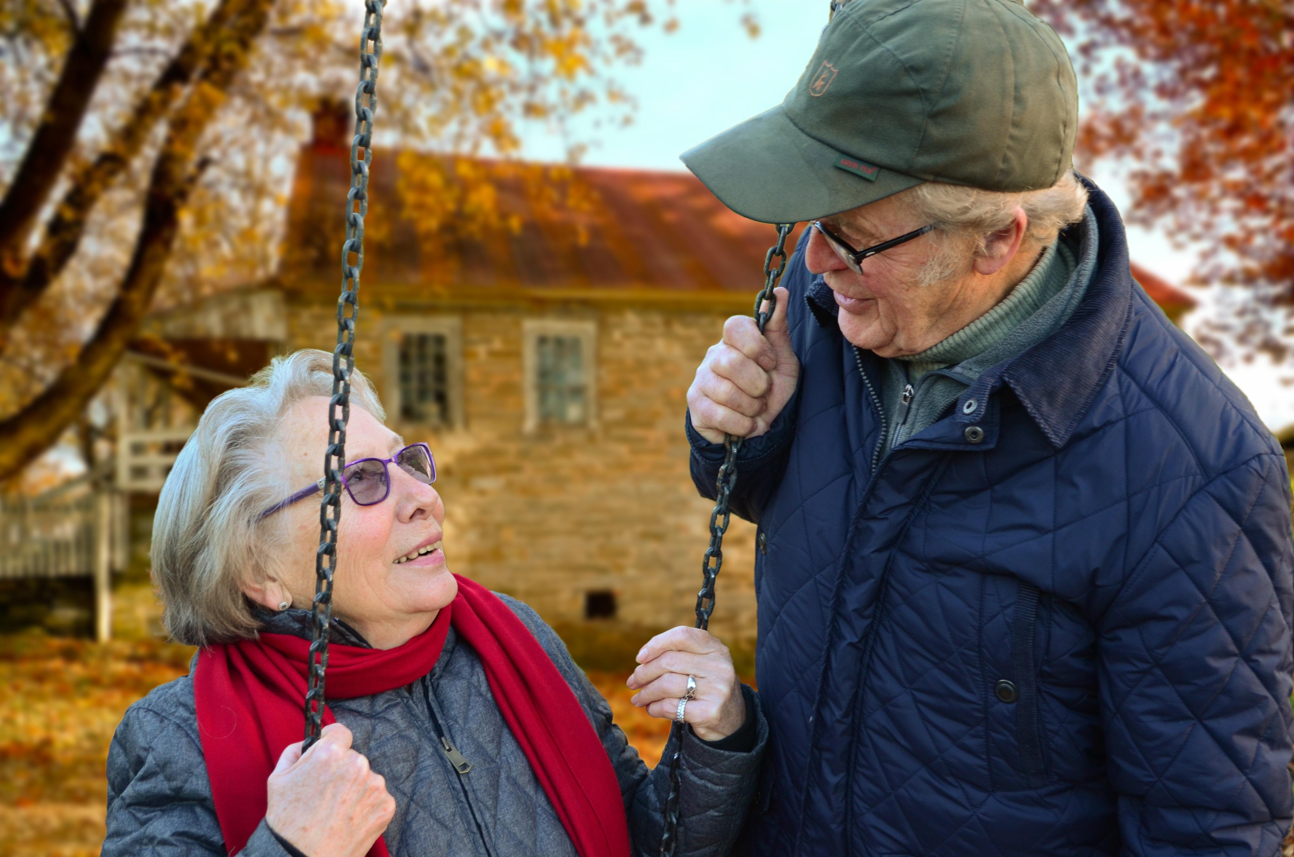 Retirement Age Couple