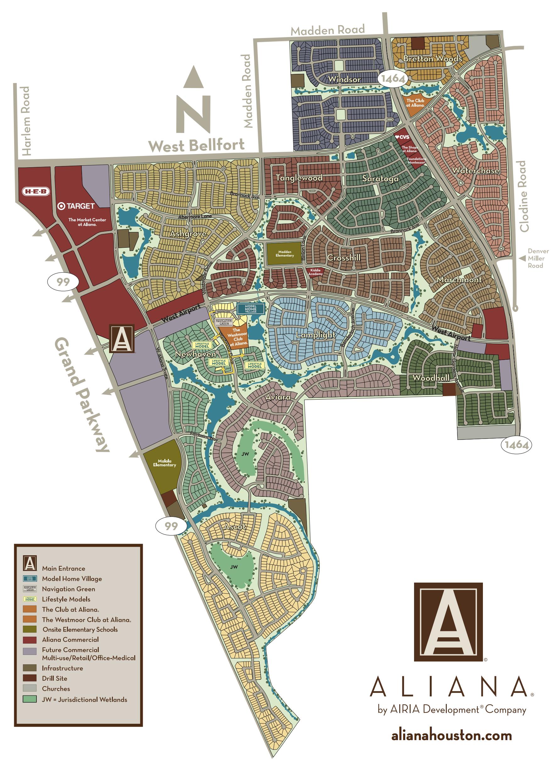 aliana map