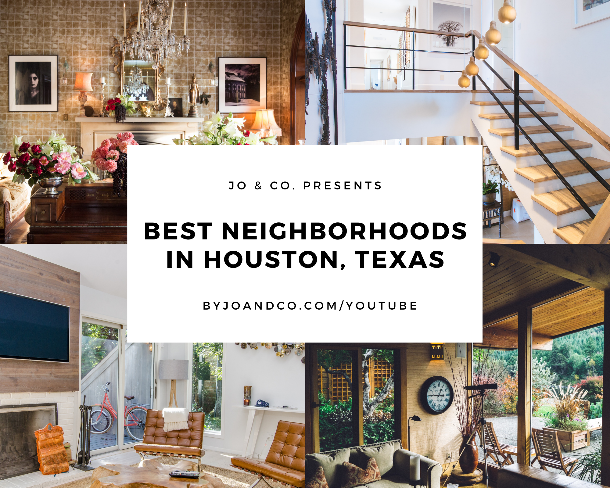 Best neighborhoods in Houston Texas title