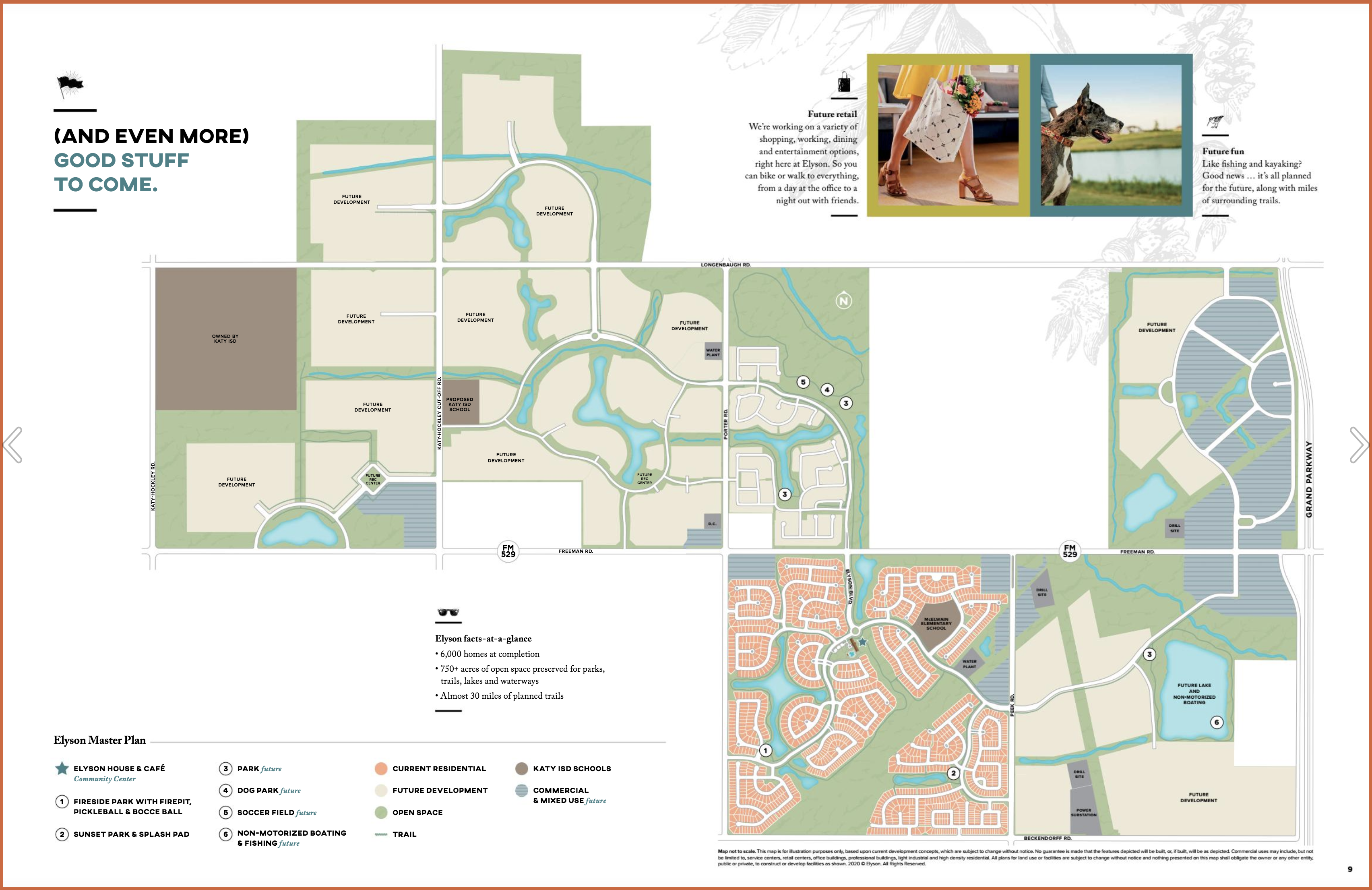 elyson master planned community map